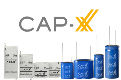 Hawyang now an Authorised Distributor for CAP-XX Supercapacitors
